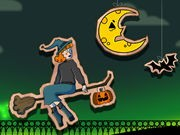 Play Halloween Witch Fly on FOG.COM