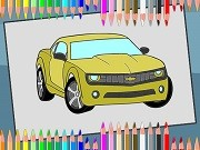 Play American Cars Coloring Book on FOG.COM