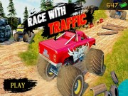 Play Ultimate MonterTruck Race With Traffic 3D on FOG.COM