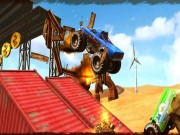 Play Monster Truck Impossible Track Plane Simulator on FOG.COM