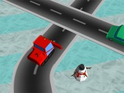 Play Traffic Run Christmas On FOG.COM