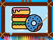 Play Kids Coloring Bakery on FOG.COM