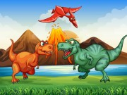 Play Colorful Dinosaurs Match 3 on FOG.COM