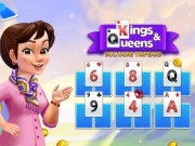 Play Kings And Queens Solitaire Tripeaks on FOG.COM